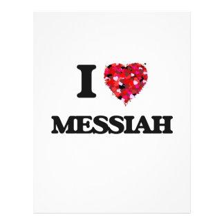 Amo a las Mesías Folleto 21,6 X 28 Cm