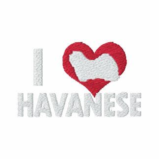 Amo a las mujeres de Havanese Polo T-shirt