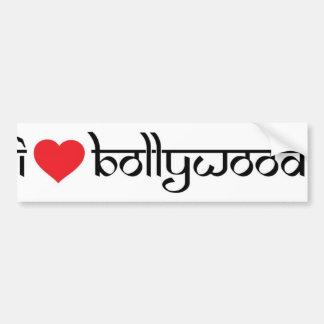 Amo a las pegatinas para el parachoques de Bollywo Pegatina Para Auto
