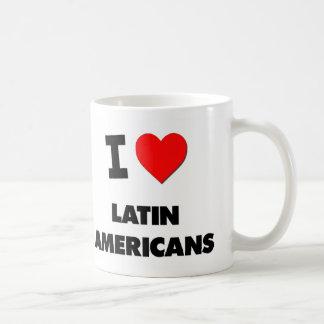 Amo a latinoamericanos tazas de café