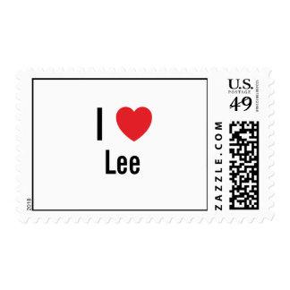 Amo a Lee Franqueo