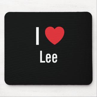 Amo a Lee Alfombrillas De Ratones