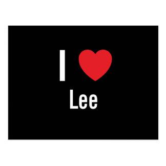 Amo a Lee Tarjetas Postales