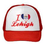 Amo a Lehigh, Iowa Gorro De Camionero