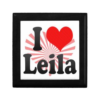 Amo a Leila Cajas De Regalo