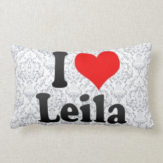 Amo a Leila Almohadas