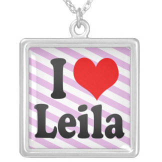 Amo a Leila Grimpola Personalizada