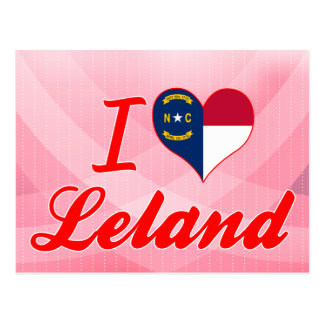 Amo a Leland, Carolina del Norte Postales