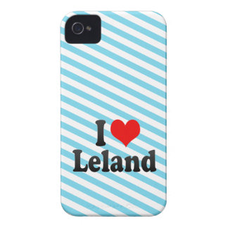 Amo a Leland iPhone 4 Fundas