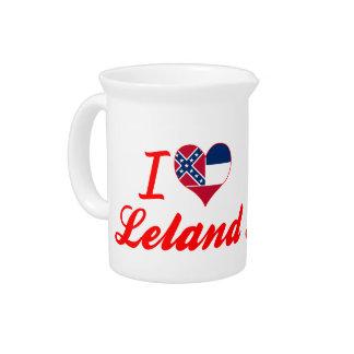 Amo a Leland, Mississippi Jarras Para Bebida
