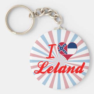 Amo a Leland, Mississippi Llaveros