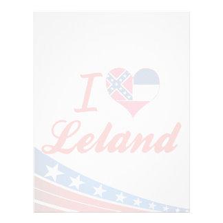 Amo a Leland, Mississippi Plantilla De Membrete