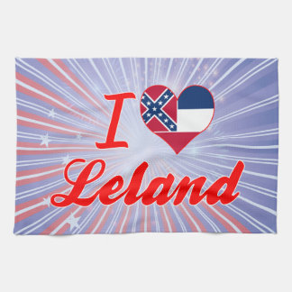 Amo a Leland, Mississippi Toallas