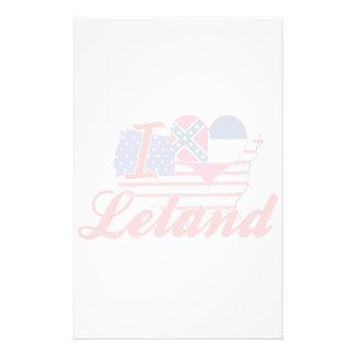 Amo a Leland, Mississippi Papelería