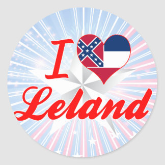 Amo a Leland, Mississippi Etiqueta Redonda