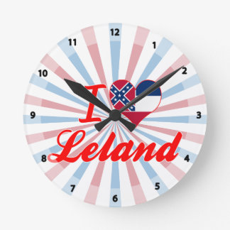Amo a Leland, Mississippi Relojes De Pared