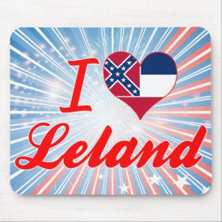 Amo a Leland, Mississippi Alfombrillas De Ratones