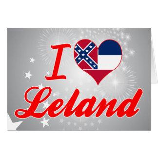 Amo a Leland, Mississippi Tarjeta