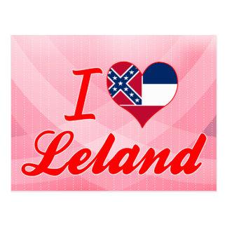 Amo a Leland, Mississippi Tarjetas Postales