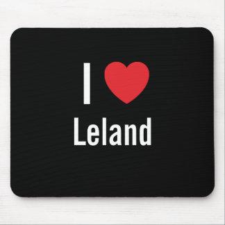 Amo a Leland Alfombrillas De Raton