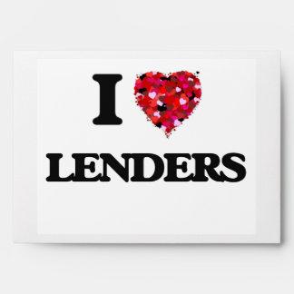 Amo a Lenders Sobres