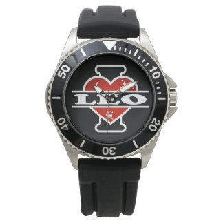 Amo a Leo Relojes De Mano