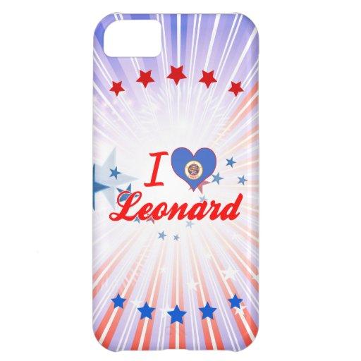 Amo a Leonard, Minnesota Funda Para iPhone 5C