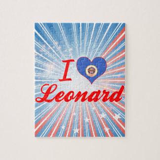 Amo a Leonard Minnesota Rompecabezas Con Fotos