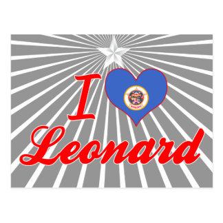 Amo a Leonard, Minnesota Postales