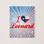 Amo a Leonard, Tejas Rompecabeza Con Fotos