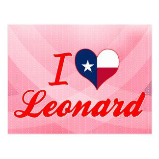 Amo a Leonard, Tejas Postales