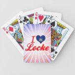 Amo a Locke, Nueva York Barajas De Cartas