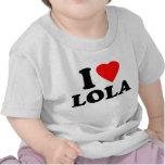 Amo a Lola Camiseta