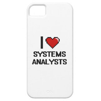 Amo a los analistas de sistemas iPhone 5 Case-Mate cárcasa