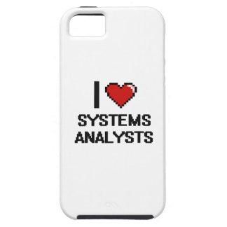 Amo a los analistas de sistemas iPhone 5 Case-Mate coberturas