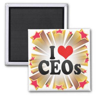 Amo a los CEOs Imanes Para Frigoríficos