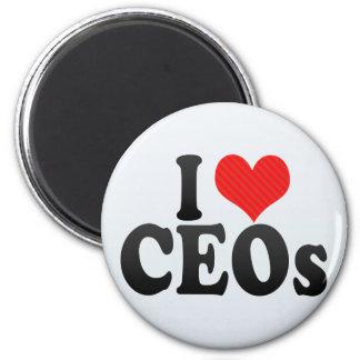 Amo a los CEOs Imanes De Nevera