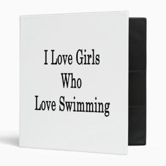 Amo a los chicas que aman el nadar