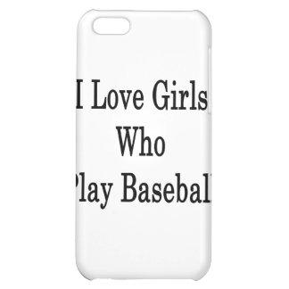 Amo a los chicas que juegan a béisbol
