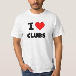Amo a los clubs remeras