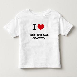 Amo a los coches profesionales camiseta