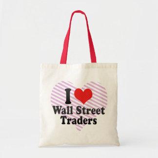 Amo a los comerciantes de Wall Street Bolsa