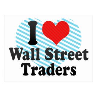 Amo a los comerciantes de Wall Street Postal