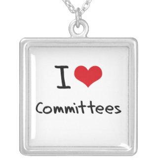 Amo a los comités joyeria
