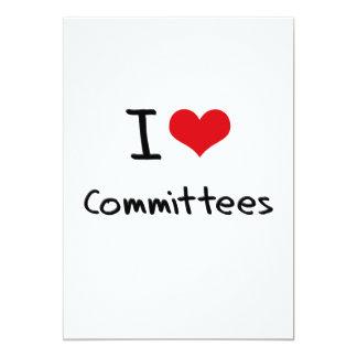 Amo a los comités anuncio personalizado