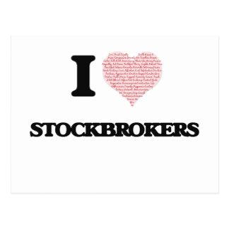 Amo a los corredores de bolsa (el corazón hecho de postales