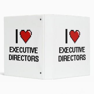 Amo a los directores ejecutivos carpeta 2,5 cm