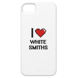 Amo a los forjadores blancos iPhone 5 Case-Mate protectores