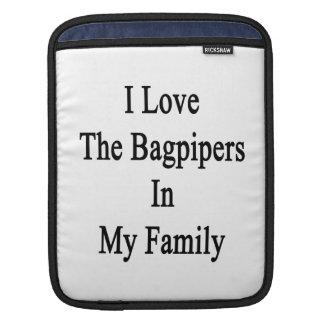 Amo a los gaiteros en mi familia mangas de iPad