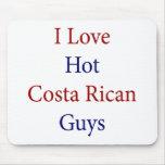 Amo a los individuos calientes de Rican de la cost Alfombrilla De Raton